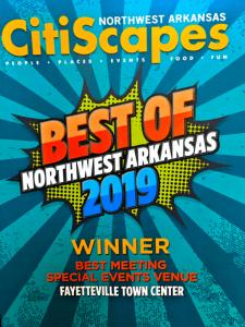 CityScapes Northwest Arkansas Award Winner