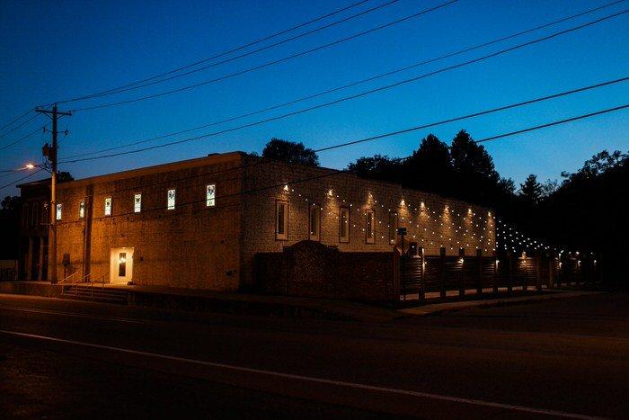 The Ravington at night